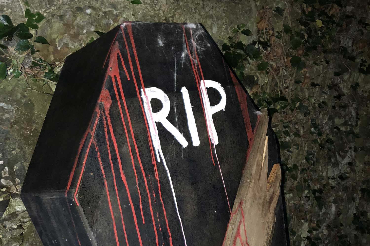 Halloween Gravestone Carving and Design