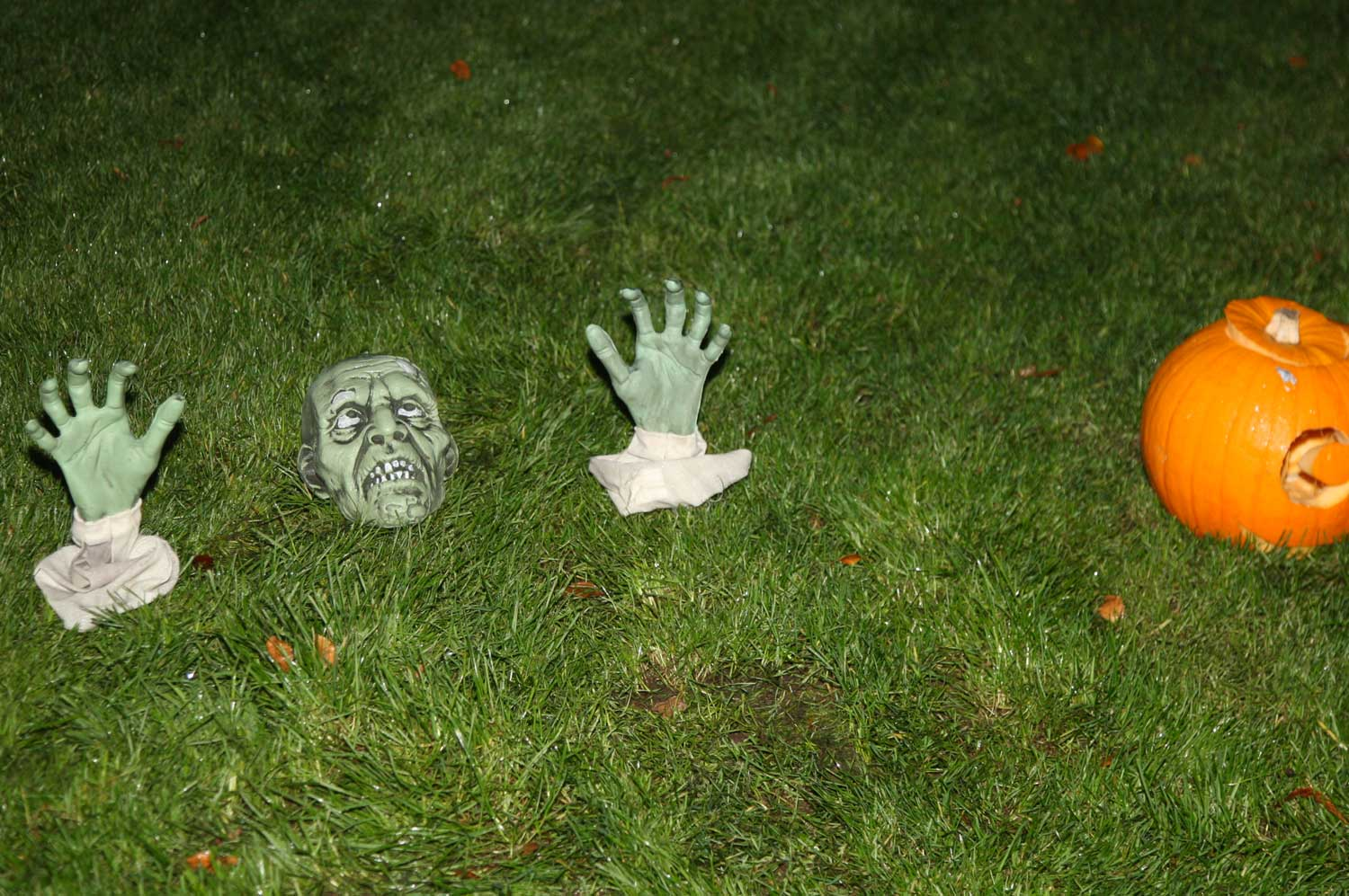 Halloween Props at a Brilliant Trails Halloween Trail