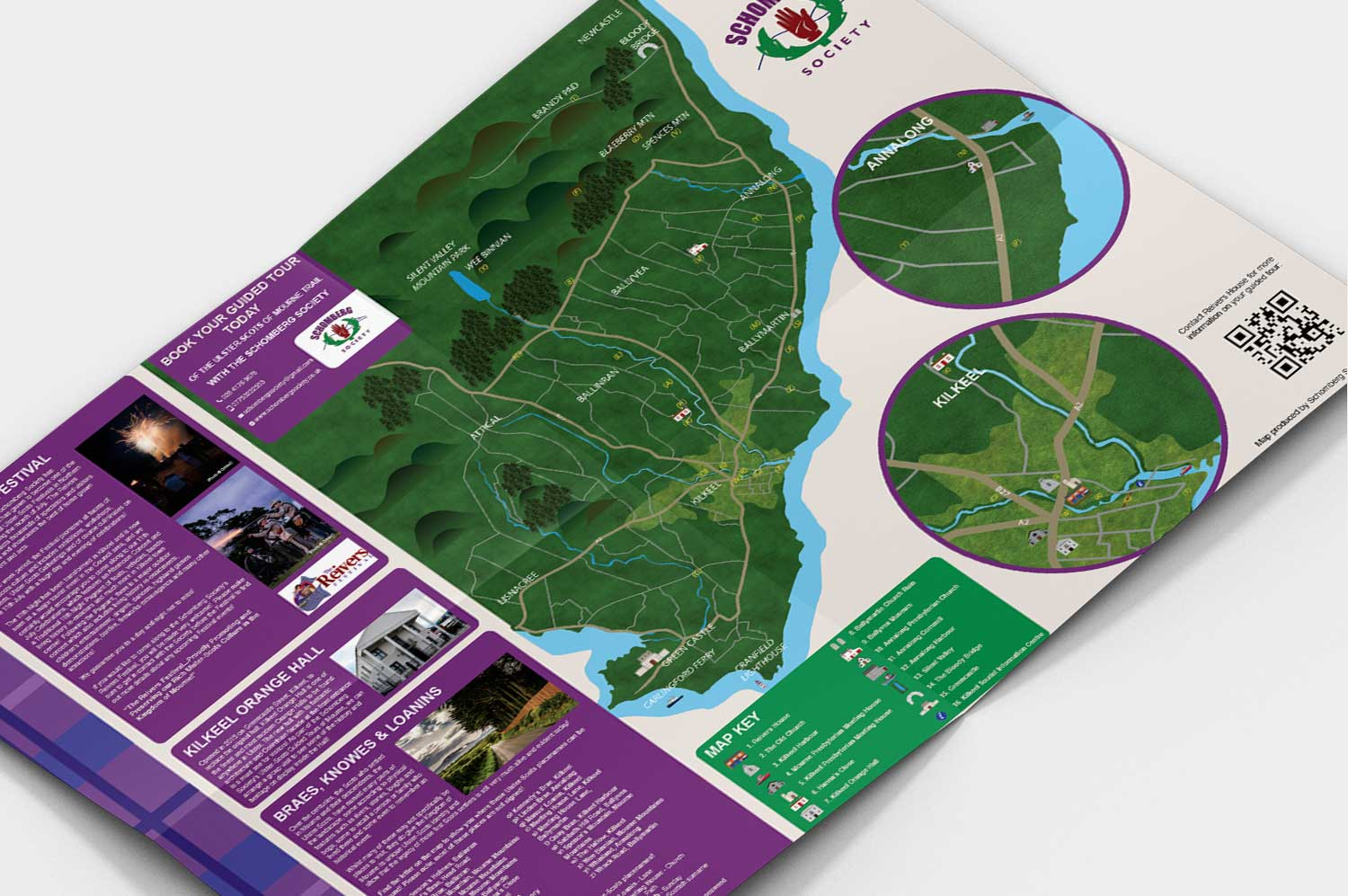 Schomberg trail Map and Design, Schomberg Society