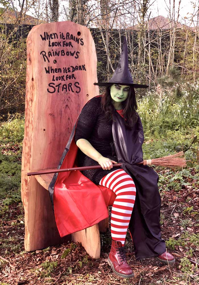 Antrim Wonderland Wood trail witch