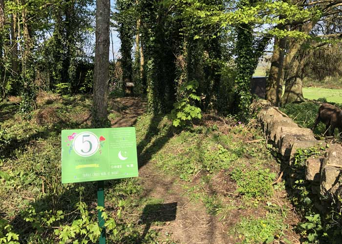 Bunratty Castle Fairy Trail Marker