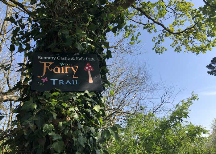 Bunratty Castle Fairy Trail Signage
