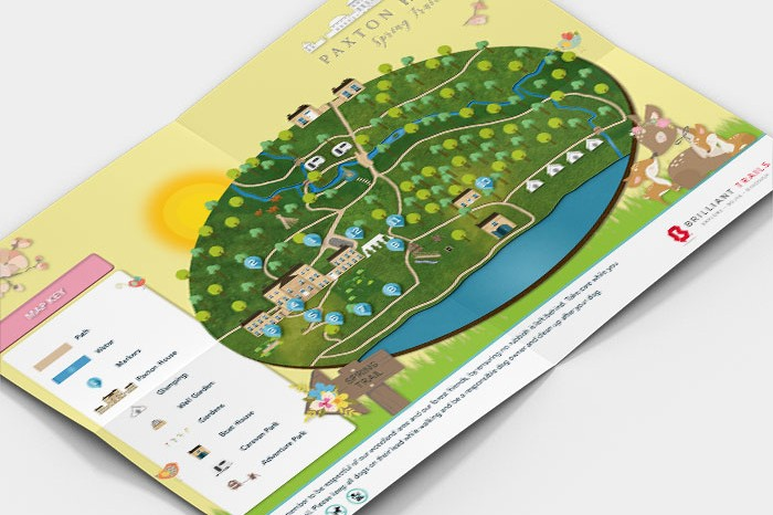Paxton House Woodland Trail Design Map