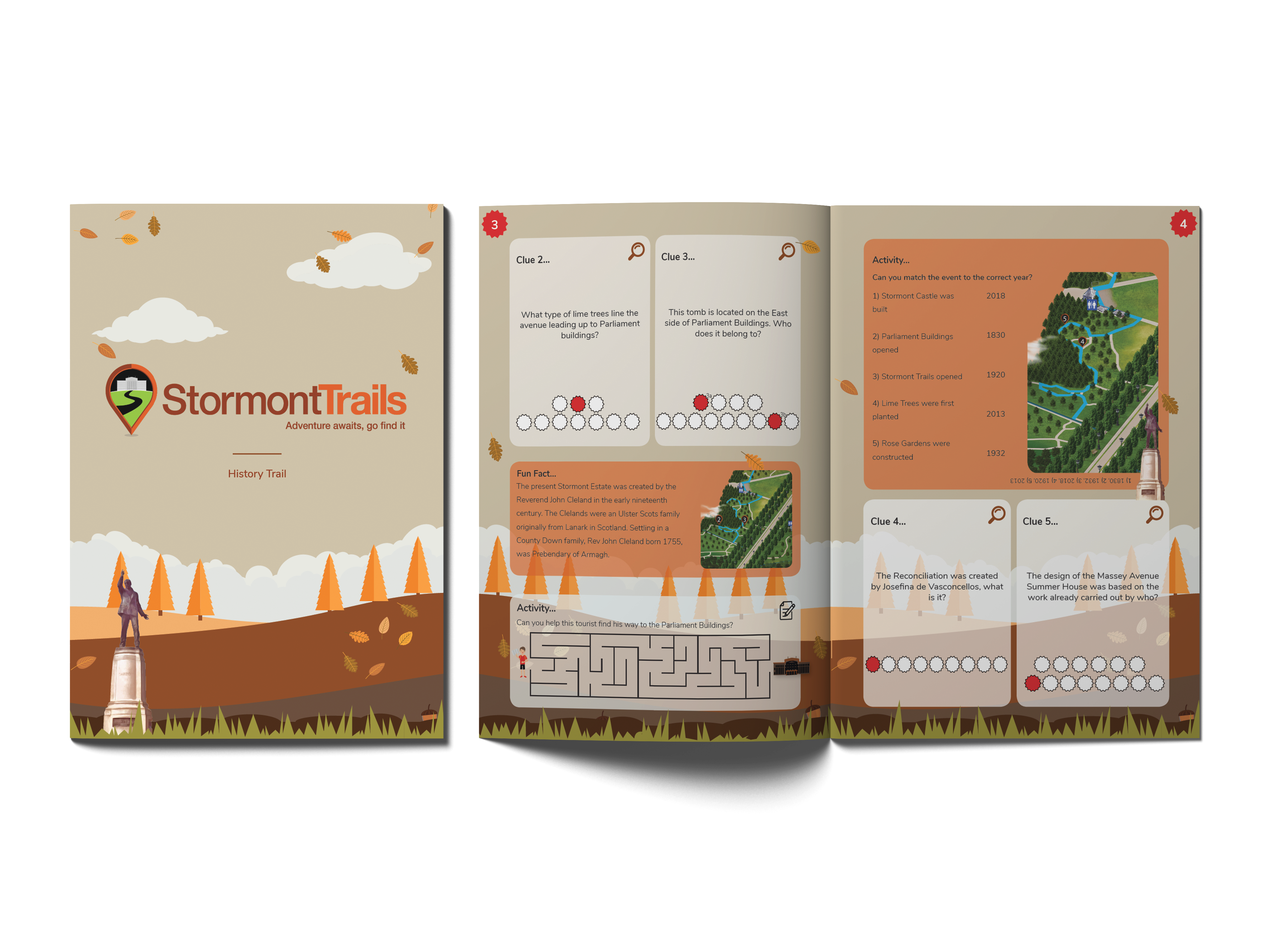 Stormont History trail booklet