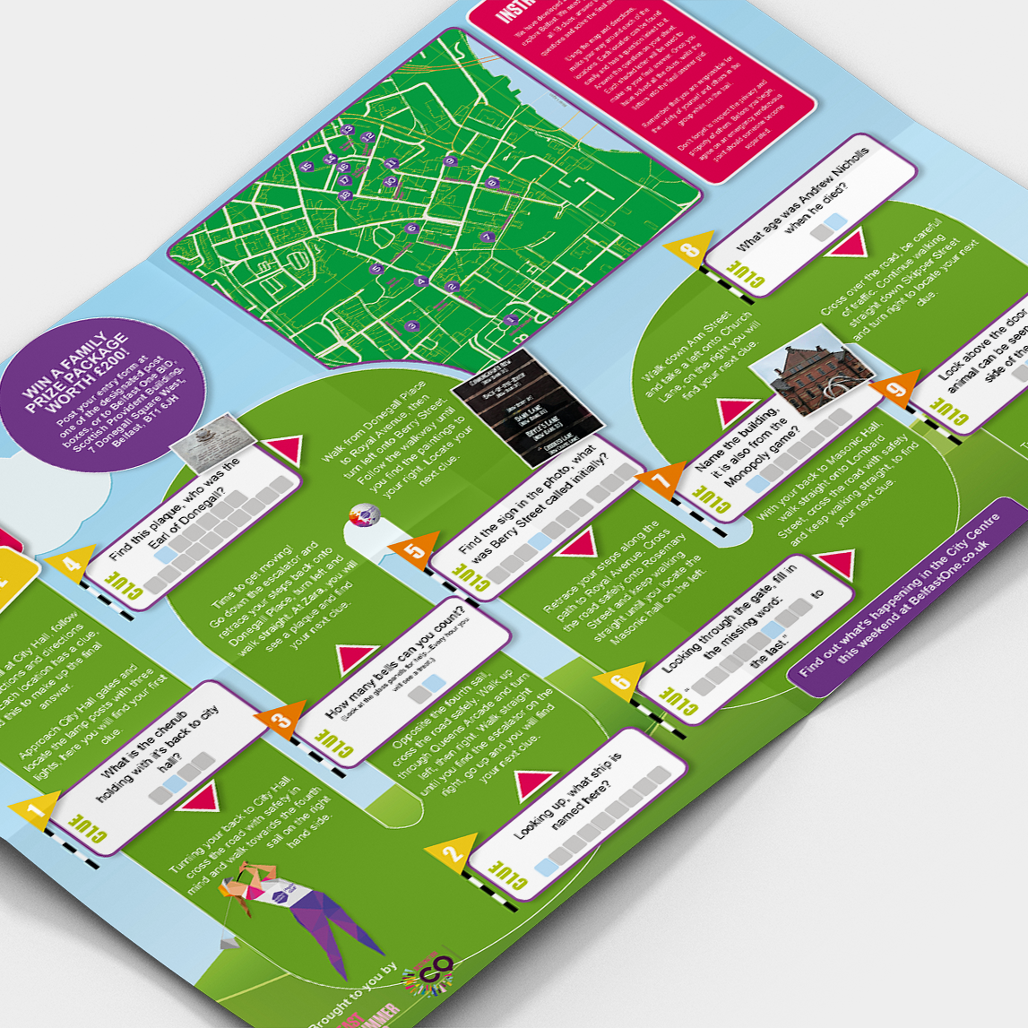 Gamification of Belfast City Centre Booklet