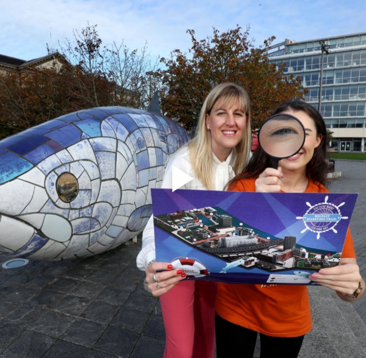 Belfast Harbour Culture Day Trail Designers Map