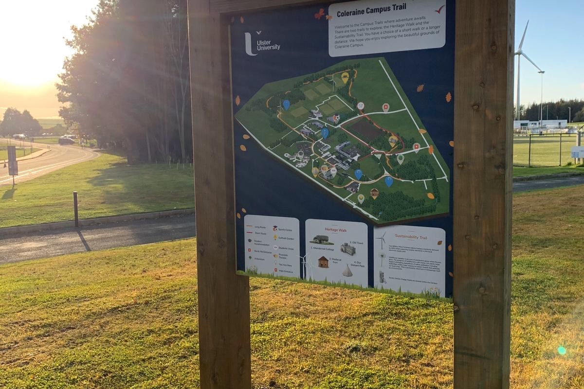 Coleraine Campus Interactive trail University