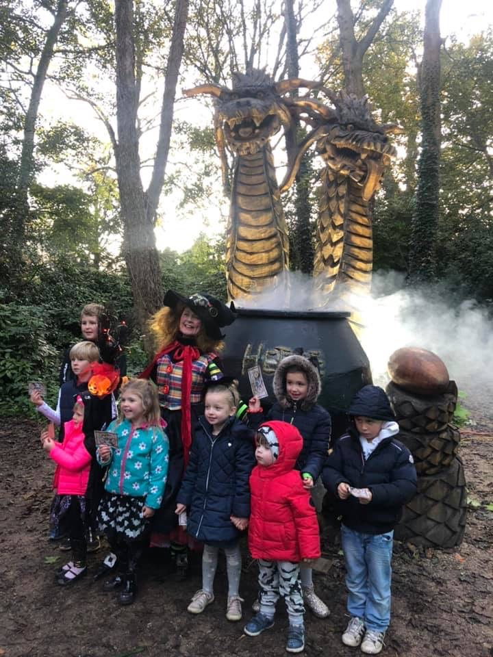 interactive halloween trail 2019