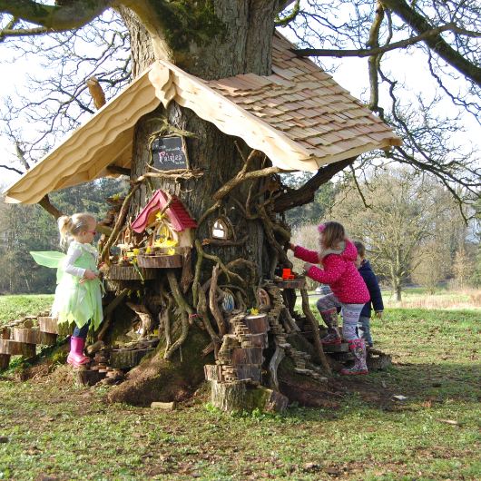 Fairy Tree, bespoke trail design