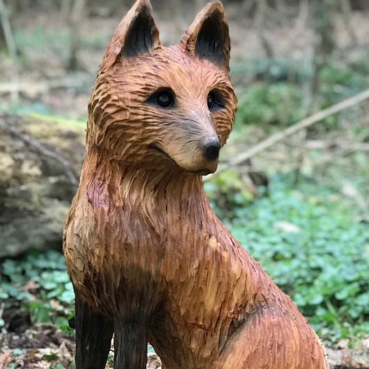 Fox Trail Sculpture