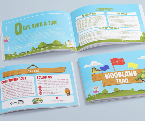 Woodland Trail Activity booklet
