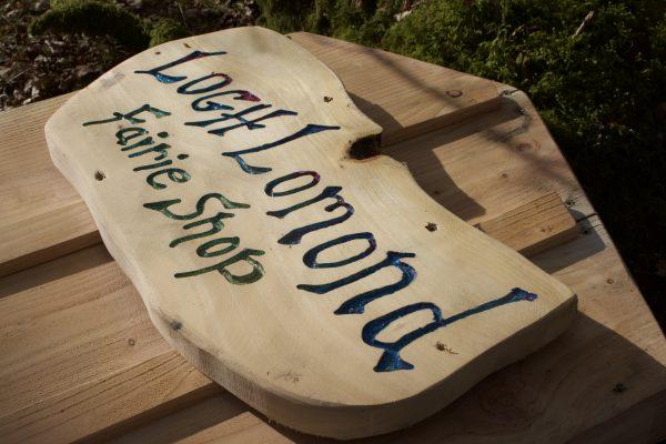 Loch Lomond Faerie Trail Upgrade Signage