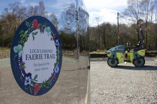 Loch Lomond Faerie Trail Carpark