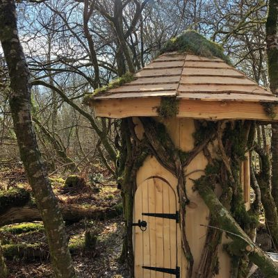 Loch Lomond Faerie Trail School Hut