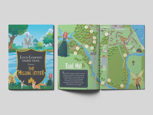 Loch Lomond Faerie Trail Activity Booklet