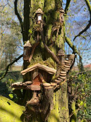 Uncle Henry's Farm Fairy Trail, Fairy Tree Houses