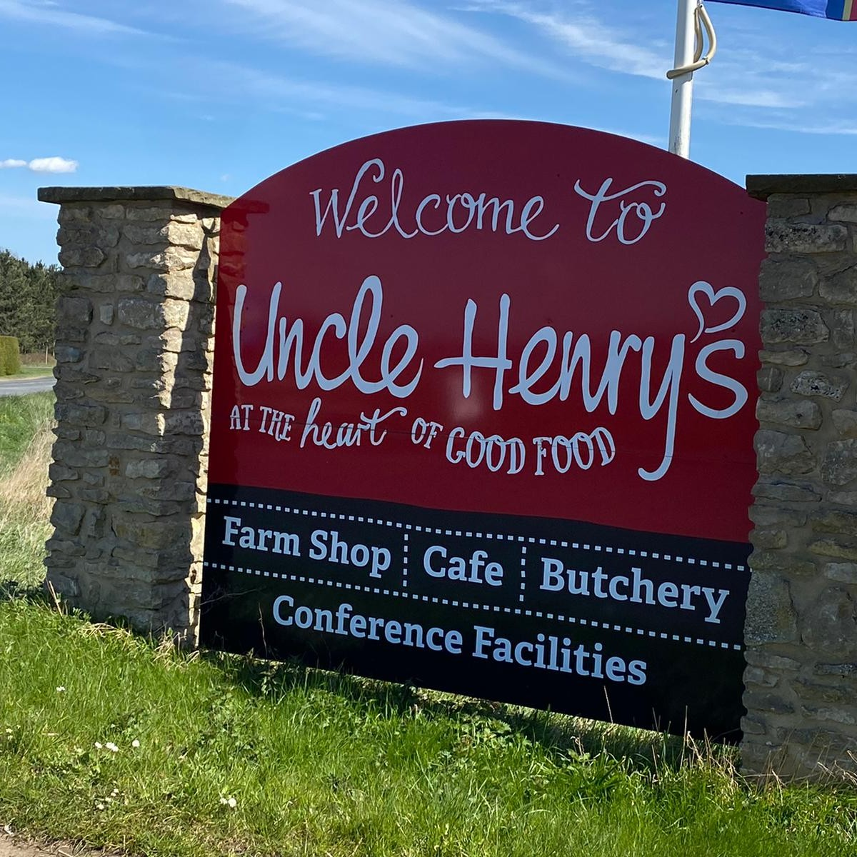 Uncle Henry's Farm Fairy Trail Welcome Signage