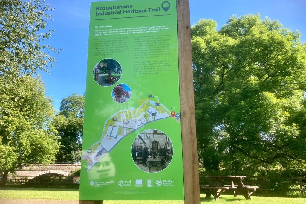 heritage trail Interpretive Signage Interpretive design